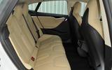 Tesla Model S 60D rear seats