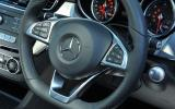 Mercedes-Benz GLE350 d steering wheel