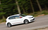 Volkswagen Polo Beats Edition cornering