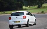 Volkswagen Polo Beats Edition rear cornering