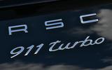 Porsche 911 Turbo badging