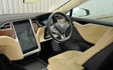 Tesla Model S 60D dashboard