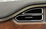 Tesla Model S 60D air vents