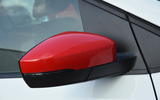 Volkswagen Polo Beats Edition red wing mirror