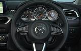 Mazda 6 steering wheel