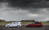 Vauxhall Astra and Ford Fiesta mock-up