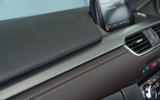 Mazda 6 leather stitched dashboard