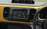 Volkswagen Beetle Dune infotainment