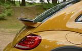 Volkswagen Beetle Dune rear spoiler