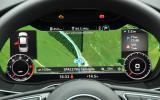 Audi A4 virtual cockpit