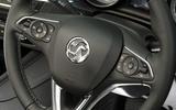 Vauxhall Insignia Grand Sport steering wheel