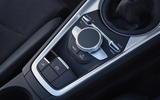 Audi TT MMI controls