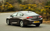Vauxhall Insignia Grand Sport rear cornering