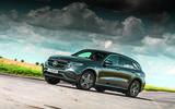 Mercedes-Benz EQC driving - front