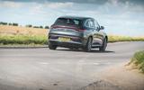 Mercedes-Benz EQC driving - rear