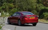 Mazda 6 165 Sport Nav 2018 UK first drive review - cornering rear
