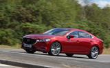 Mazda 6 165 Sport Nav 2018 UK first drive review - hero front