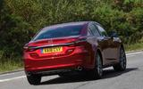 Mazda 6 165 Sport Nav 2018 UK first drive review - hero rear