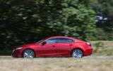 Mazda 6 165 Sport Nav 2018 UK first drive review - on the road side