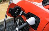 Jaguar I-Pace charging port
