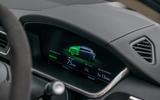 Jaguar I-Pace charging display