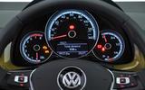 Volkswagen Up instrument cluster
