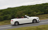 Mercedes-Benz C 220 d Cabriolet roof down