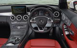 Mercedes-Benz C 220 d Cabriolet dashboard