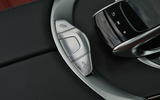 Mercedes-Benz C 220 d Cabriolet roof controls