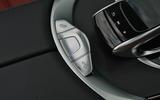 Mercedes-Benz C 220 d Cabriolet roof controls