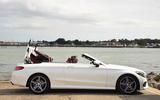 Mercedes-Benz C 220 d Cabriolet roof closing
