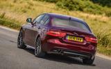 Jaguar XE AWD rear