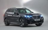 BMW X7 studio shoot - front