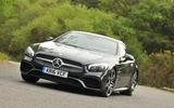 Mercedes-Benz SL 400 cornering