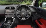 Jaguar XE R-Sport dashboard