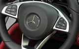 Mercedes-Benz steering wheel controls