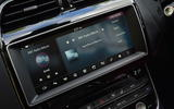 10in Jaguar XE infotainment system
