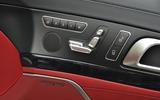 Mercedes-Benz electric seat adjustment