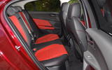 Jaguar XE rear seats