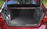 Jaguar XE boot space