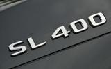 Mercedes-Benz SL 400 badging