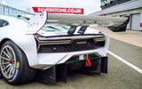 Brabham BT62 driven at Silverstone