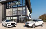 Jaguar F-Pace Range Rover Velar