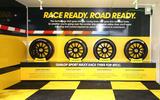 Thruxton BTCC tyres