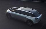 Dyson electric car - upper rear