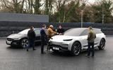 Dyson electric car - pair