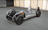 Dyson electric car - platform
