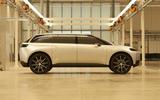 Dyson electric car - side