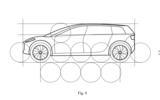 Dyson electric car patent images - side profile
