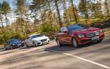 BMW 5 Series Jaguar XF Mercedes-Benz E-Class